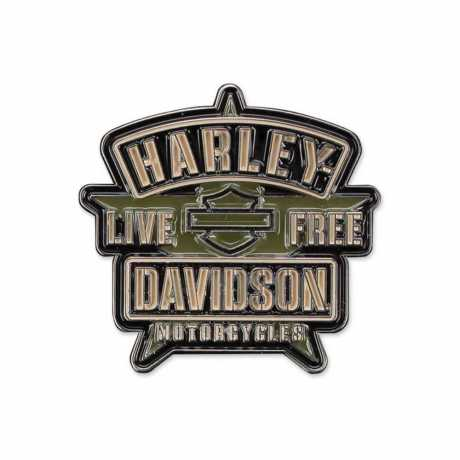 H-D Motorclothes Harley-Davidson Pin Resolute Military  - P343942