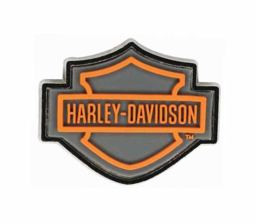 H-D Motorclothes Harley-Davidson Pin Bar & Shield orange & gray  - P516542