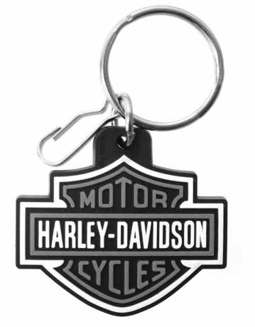 H-D Motorclothes Harley Davidson Schlüsselanhänger Bar & Shield grau  - PC4496