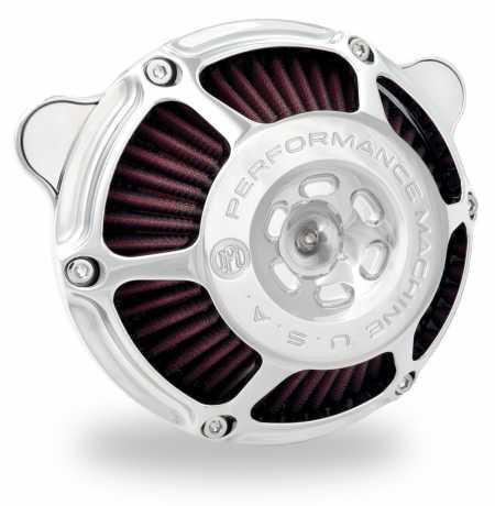 Performance Machine PM Aircleaner Max HP, Chrome  - 88-9608