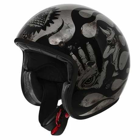 Premier Helmets Premier Le Petit Jethelmet Evo BD 17 BM  - PR9PET24V