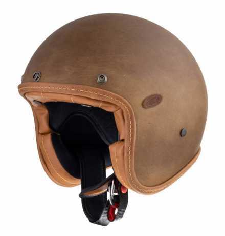 Premier Helmets Premier Le Petit Jethelmet Evo Brown Old Style BM  - PR9PET25-1000V