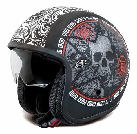 Premier Helmets Premier Vintage Jethelmet SK9 Skull  - PR9VIN19