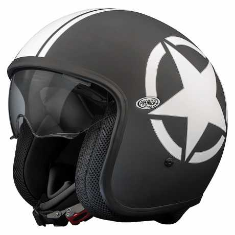 Premier Helmets Premier Vintage Jethelm Star 9BM  - PR9VIN20V