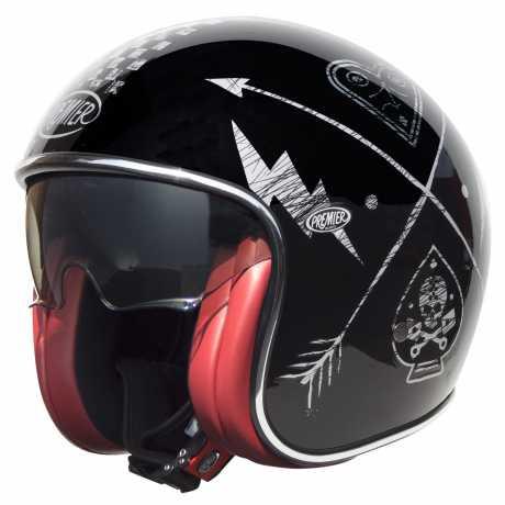 Premier Helmets Premier Vintage Jethelm NX Silver, chromed  - PR9VIN59V