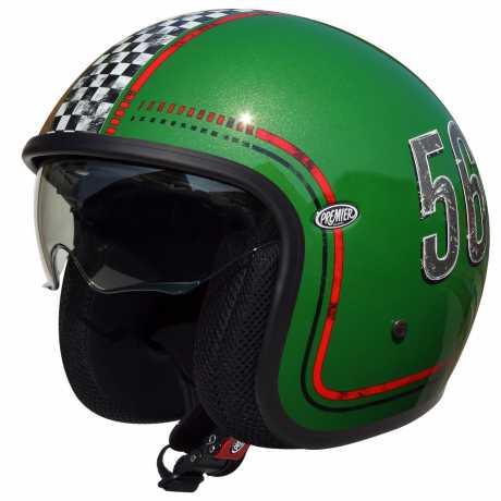 Premier Helmets Premier Vintage Jethelm FL6  - PR9VIN64V