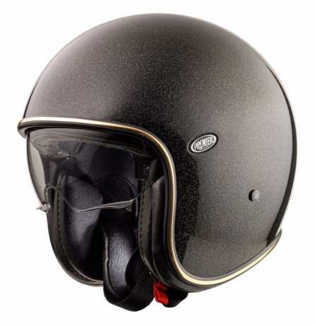 Premier Helmets Premier Vintage Jethelmet Evo U9 Glitter Gold  - PR9VIN82-100V