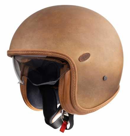 Premier Helmets Premier Vintage Jethelm Brown Old Style BM  - PR9VIN84-1000V