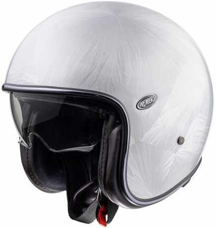 Premier Helmets Premier Vintage Jet Helmet Evo DR Classic  - PR9VIN91