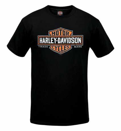 H-D Motorclothes Harley-Davidson T-Shirt Long Bar & Shield black  - R003414V