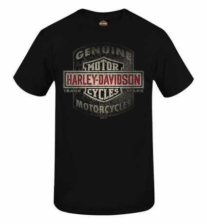 H-D Motorclothes Harley-Davidson T-Shirt Scrub Shield schwarz  - R004007V