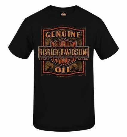 H-D Motorclothes Harley-Davidson T-Shirt Grunge Rust schwarz  - R0040133V