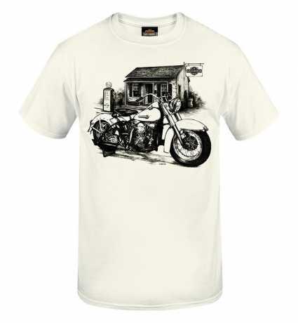 H-D Motorclothes Harley-Davidson T-Shirt Gas Stop weiß  - R0040193V