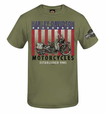 H-D Motorclothes Harley-Davidson T-Shirt Patriot WL  - R0040403V