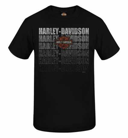 H-D Motorclothes Harley-Davidson T-Shirt Dust schwarz  - R0040443V