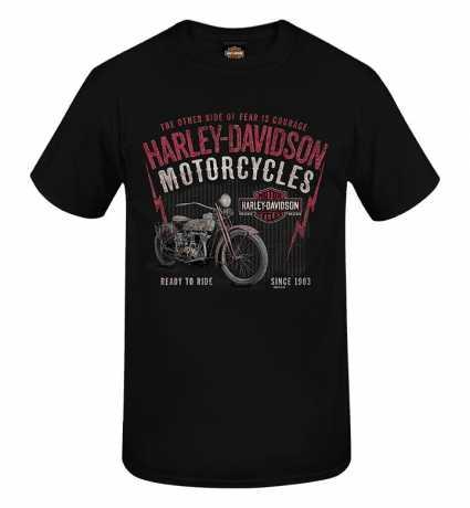 H-D Motorclothes Harley-Davidson T-Shirt Grunge Name schwarz  - R0040463V