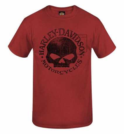 H-D Motorclothes Harley-Davidson T-Shirt Willie G Skull red XXL - R0040567