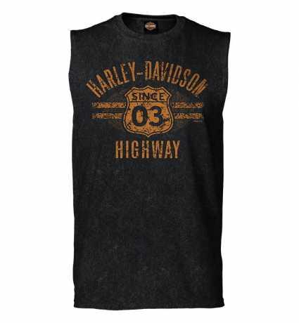 H-D Motorclothes Harley-Davidson Muscle Shirt Highway vintage schwarz  - R0040624V