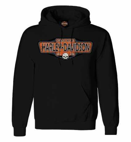 H-D Motorclothes Harley-Davidson Hoodie Old Signage black  - R0040713V