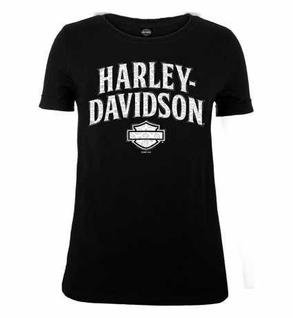 H-D Motorclothes Harley-Davidson Damen T-Shirt Arrange schwarz  - R0040852V