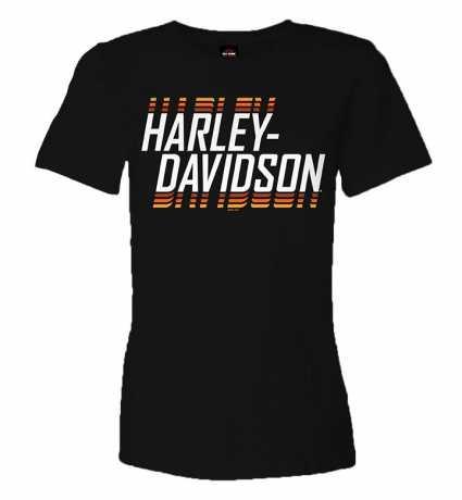 H-D Motorclothes Harley-Davidson Damen T-Shirt Super Name schwarz  - R0040892V
