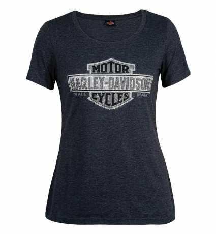 H-D Motorclothes Harley-Davidson Damen T-Shirt Multibly SL grau  - R0042142V