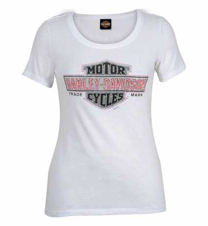 H-D Motorclothes Harley-Davidson Damen T-Shirt Multibly PK weiß  - R0042153V