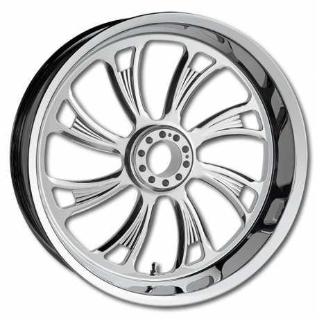RevTech RevTech Super Charger Front Wheel 3.5x23 chrome  - 91-4619
