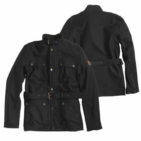 Rokker Rokker Black Jacket, long  - 5416V