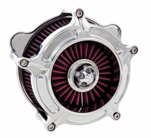 Roland Sands Design RSD Air Cleaner Turbine, Chrome  - 89-5806