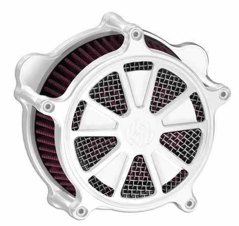 Roland Sands Design RSD Luftfilter Venturi Raid, chrom  - 89-5855