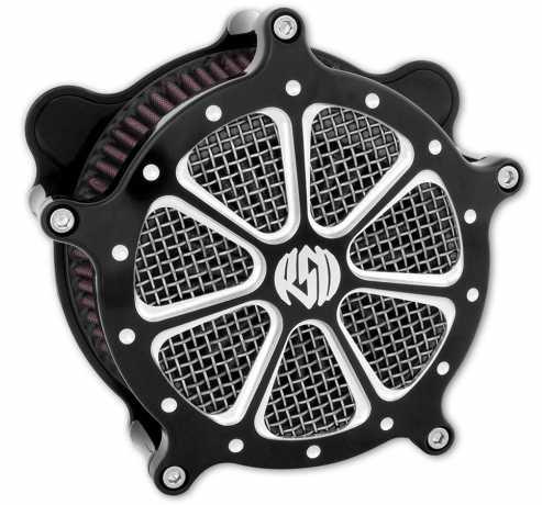 Roland Sands Design RSD Luftfilter Venturi Speed 7, Contrast Cut Platinum  - 89-5873