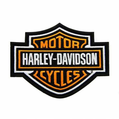H-D Motorclothes Harley-Davidson Aufnäher Bar & Shield orange  - SA8011413