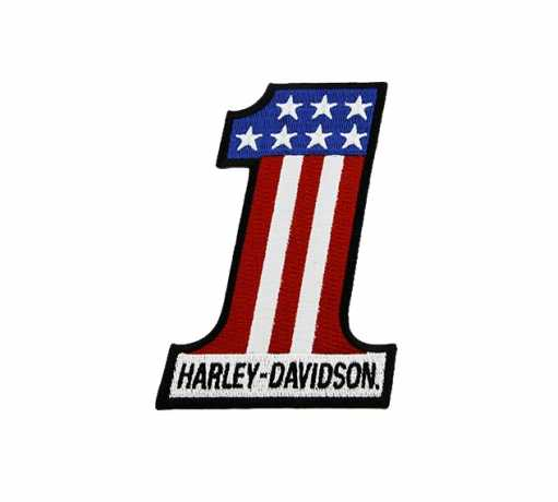 H-D Motorclothes Harley-Davidson Aufnäher #1 USA  - SA8011543