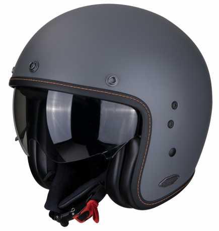 Scorpion Helmets Scorpion Belfast Solid Jethelm, cement matt grau  - 81-100-228V