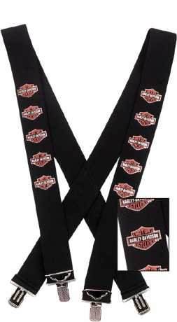 H-D Motorclothes Harley-Davidson Suspenders Bar & Shield  - SUS30230V