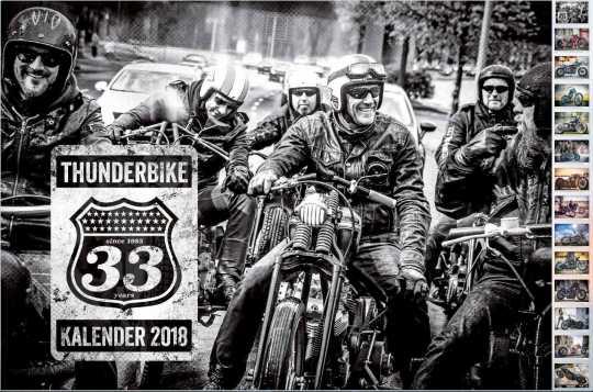 Thunderbike Clothing Thunderbike Kalender 2018  - KALENDER  18
