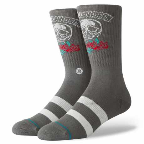 H-D Motorclothes Harley-Davidson Socken Roses Are Red L - U556D19HRA-L