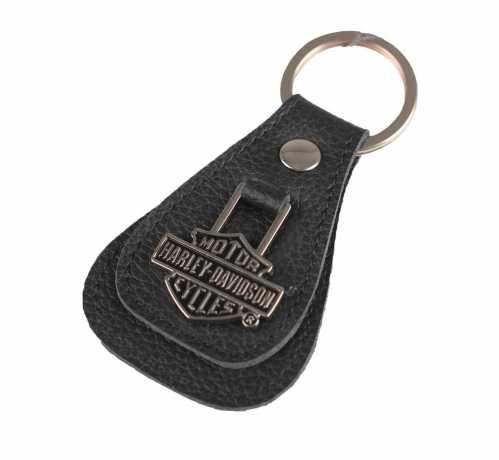 H-D Motorclothes Harley-Davidson Key Fob Bar & Shield Teardrop  - XFL0027