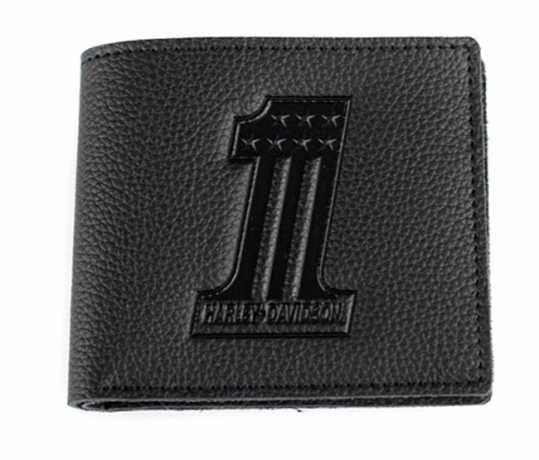 H-D Motorclothes Harley-Davidson Geldbörse #1, schwarz  - XML3837