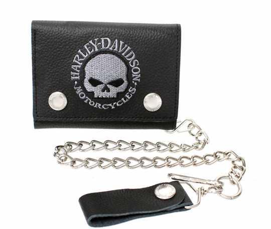 H-D Motorclothes Harley-Davidson Biker Wallet Willie G. Skull  - XML6187
