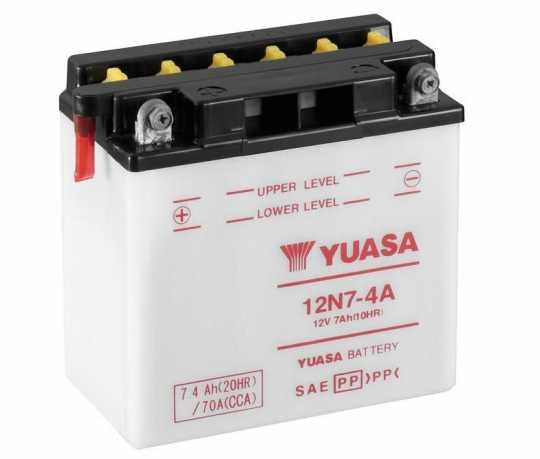 Yuasa Yuasa 12N7-4A Batterie  - 28-31179