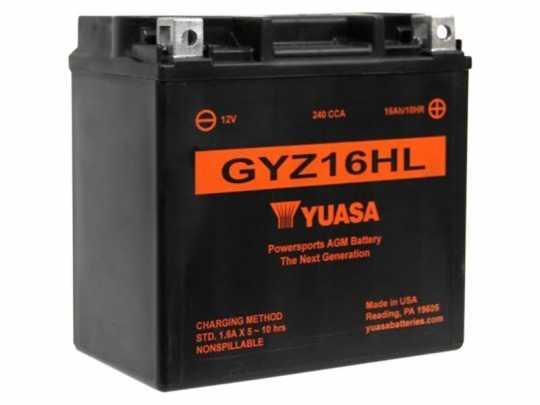 Yuasa Yuasa AGM Batterie GYZ16HL  - 61-8002