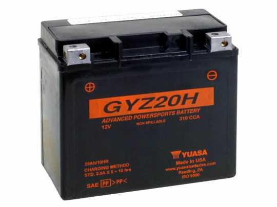 Yuasa Yuasa AGM Batterie GYZ20H  - 61-8001