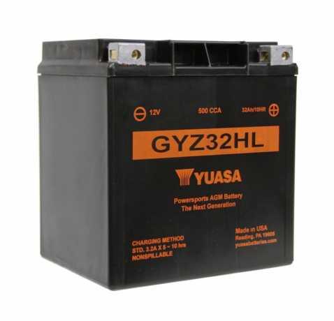 Yuasa Yuasa AGM Batterie GYZ32HL  - 61-8003