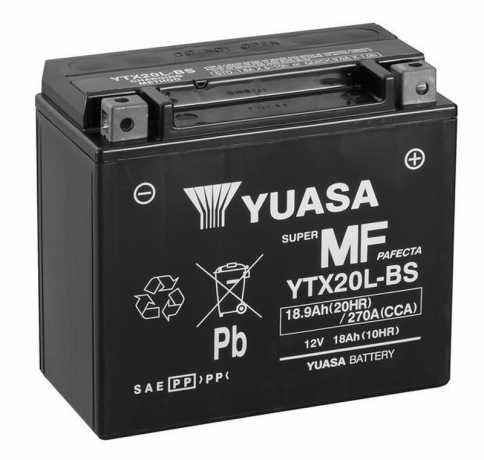 Yuasa Yuasa Batterie YTX20L-BS  - 28-31560