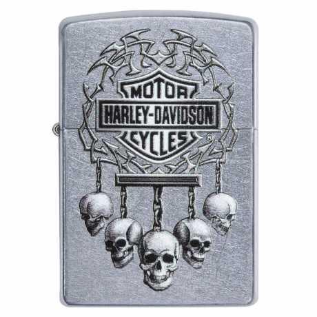 Zippo Zippo Harley-Davidson Lighter Skulls  - 60.003.930