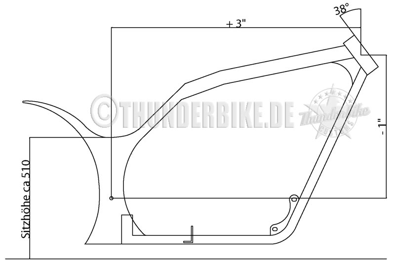 Frame Kit Freestyle Oxid on Straight 10 Engine