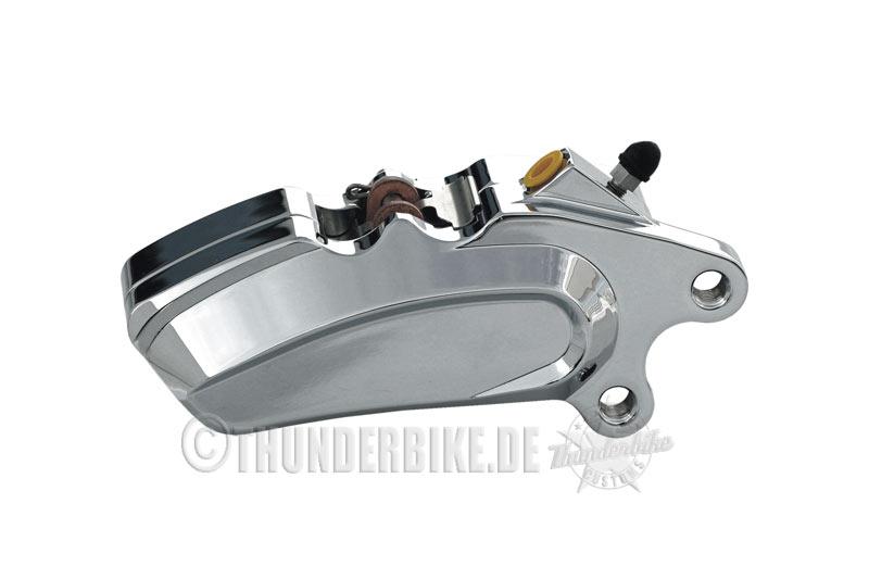 """6 Kolben-Bremszange """"Thunderbike"""" verchromt"""