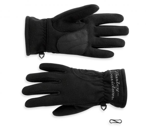 97345 11vw harley davidson fleece handschuhe damen im. Black Bedroom Furniture Sets. Home Design Ideas